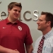 Good luck Erik Swenson and the Sooners